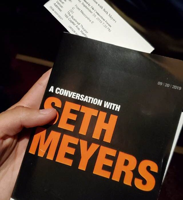 A Conversation with Seth Meyers
